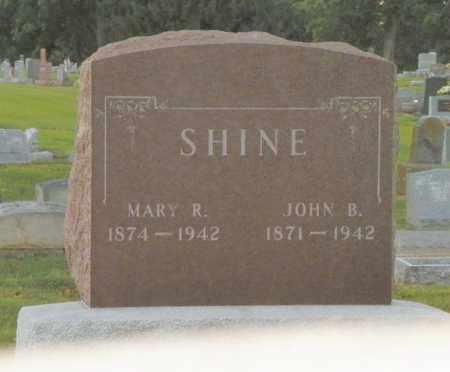 SHINE, MARY R. - Shelby County, Ohio | MARY R. SHINE - Ohio Gravestone Photos