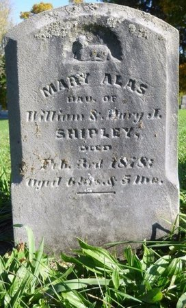 SHIPLEY, MARY ALAS - Shelby County, Ohio | MARY ALAS SHIPLEY - Ohio Gravestone Photos