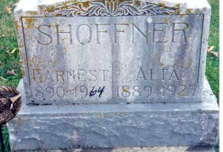 HARDESTY SHOFFNER, ALTA - Shelby County, Ohio | ALTA HARDESTY SHOFFNER - Ohio Gravestone Photos