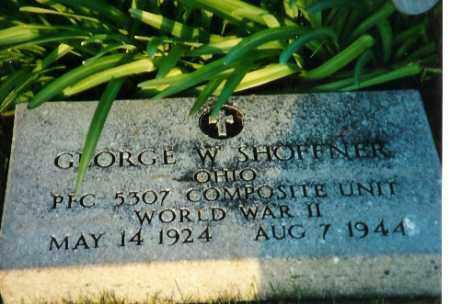 SHOFFNER, GEORGE WALDO - Shelby County, Ohio | GEORGE WALDO SHOFFNER - Ohio Gravestone Photos