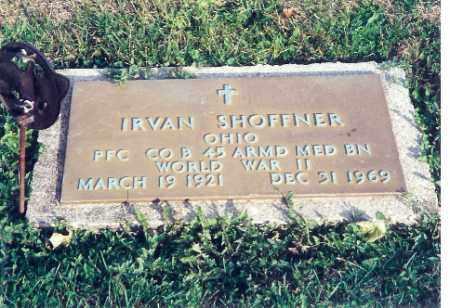 SHOFFNER, IRVAN - Shelby County, Ohio   IRVAN SHOFFNER - Ohio Gravestone Photos
