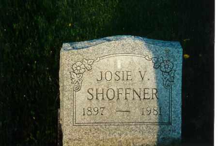 SHOFFNER, JOSIE V - Shelby County, Ohio   JOSIE V SHOFFNER - Ohio Gravestone Photos