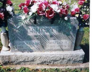 SHORT, MARTHA A. - Shelby County, Ohio   MARTHA A. SHORT - Ohio Gravestone Photos