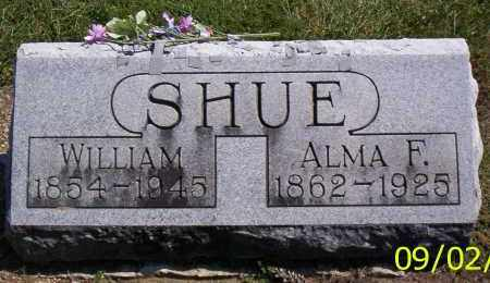 SHUE, ALMA F. - Shelby County, Ohio | ALMA F. SHUE - Ohio Gravestone Photos