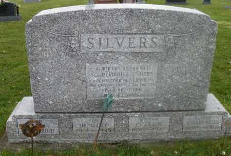 SILVERS, HERMAN E. - Shelby County, Ohio | HERMAN E. SILVERS - Ohio Gravestone Photos