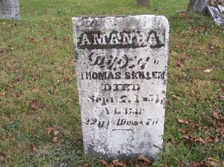 SKILLEN, AMANDA - Shelby County, Ohio | AMANDA SKILLEN - Ohio Gravestone Photos