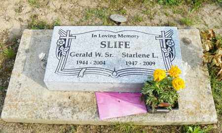 SLIFE, GERALD W. - Shelby County, Ohio | GERALD W. SLIFE - Ohio Gravestone Photos