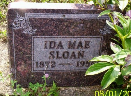 SLOAN, IDA MAE - Shelby County, Ohio | IDA MAE SLOAN - Ohio Gravestone Photos