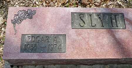 SLYH, EDGAR A. - Shelby County, Ohio   EDGAR A. SLYH - Ohio Gravestone Photos