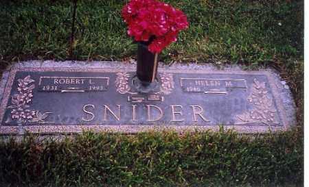 SNIDER, HELEN - Shelby County, Ohio | HELEN SNIDER - Ohio Gravestone Photos