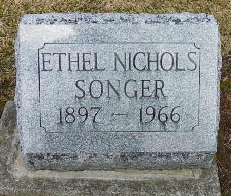 SONGER, ETHEL - Shelby County, Ohio | ETHEL SONGER - Ohio Gravestone Photos
