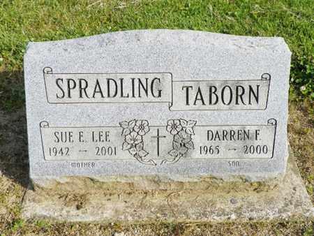 TABORN, DARREN F. - Shelby County, Ohio   DARREN F. TABORN - Ohio Gravestone Photos