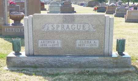SPRAGUE, ARTHUR L. - Shelby County, Ohio | ARTHUR L. SPRAGUE - Ohio Gravestone Photos