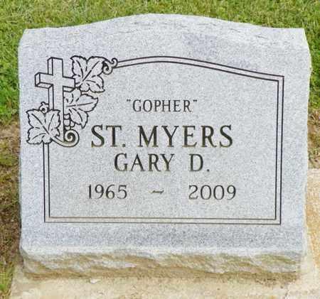 ST. MYERS, GARY D. - Shelby County, Ohio   GARY D. ST. MYERS - Ohio Gravestone Photos