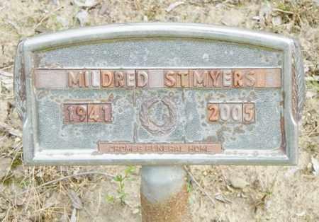 ST. MYERS, MILDRED - Shelby County, Ohio   MILDRED ST. MYERS - Ohio Gravestone Photos