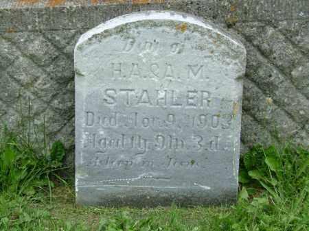 STAHLER, BESSIE - Shelby County, Ohio   BESSIE STAHLER - Ohio Gravestone Photos