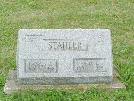 STAHLER, HARMON AUGUSTUS - Shelby County, Ohio | HARMON AUGUSTUS STAHLER - Ohio Gravestone Photos