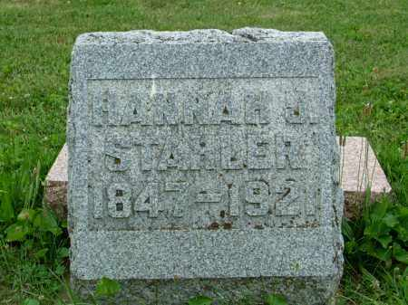 STAHLER, HANNAH JANE - Shelby County, Ohio | HANNAH JANE STAHLER - Ohio Gravestone Photos