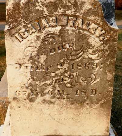 STALEY, ISAIAH - Shelby County, Ohio | ISAIAH STALEY - Ohio Gravestone Photos