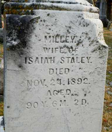 STALEY, MILLEY - Shelby County, Ohio | MILLEY STALEY - Ohio Gravestone Photos