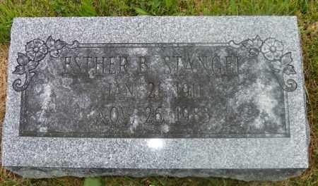 STANGEL, ESTHER B. - Shelby County, Ohio | ESTHER B. STANGEL - Ohio Gravestone Photos