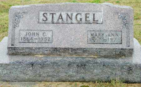 STANGEL, MARY ANN - Shelby County, Ohio | MARY ANN STANGEL - Ohio Gravestone Photos