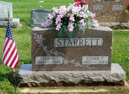 STARRETT, ROY W. - Shelby County, Ohio | ROY W. STARRETT - Ohio Gravestone Photos