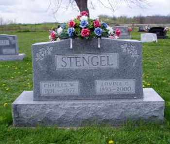STENGEL, CHARLES WEBSTER - Shelby County, Ohio | CHARLES WEBSTER STENGEL - Ohio Gravestone Photos