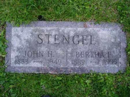 STENGEL, JOHN HENRY - Shelby County, Ohio | JOHN HENRY STENGEL - Ohio Gravestone Photos
