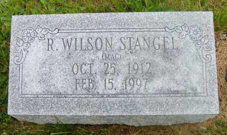STANGEL, R. WILSON - Shelby County, Ohio   R. WILSON STANGEL - Ohio Gravestone Photos