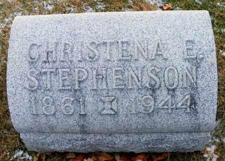 STEPHENSON, CHRISTENA E. - Shelby County, Ohio   CHRISTENA E. STEPHENSON - Ohio Gravestone Photos