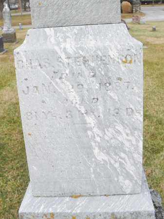 STEPHENSON, CHAS - Shelby County, Ohio | CHAS STEPHENSON - Ohio Gravestone Photos