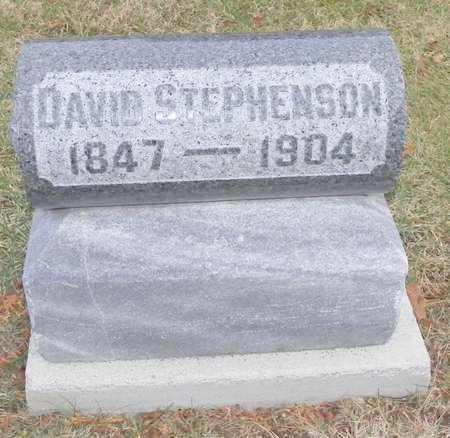 STEPHENSON, DAVID - Shelby County, Ohio   DAVID STEPHENSON - Ohio Gravestone Photos