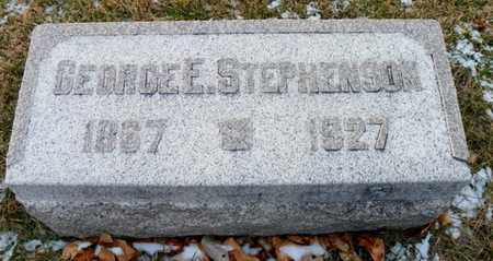 STEPHENSON, GEORGE E. - Shelby County, Ohio | GEORGE E. STEPHENSON - Ohio Gravestone Photos