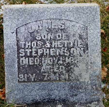 STEPHENSON, JAMES F. - Shelby County, Ohio | JAMES F. STEPHENSON - Ohio Gravestone Photos