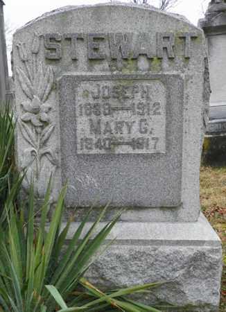 STEWART, MARY G. - Shelby County, Ohio | MARY G. STEWART - Ohio Gravestone Photos