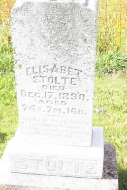 STOLTE, ELIZABETH - Shelby County, Ohio | ELIZABETH STOLTE - Ohio Gravestone Photos