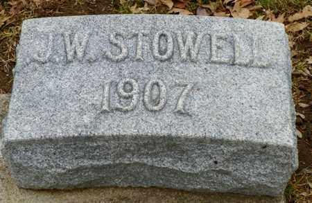 STOWELL, J. W. - Shelby County, Ohio | J. W. STOWELL - Ohio Gravestone Photos