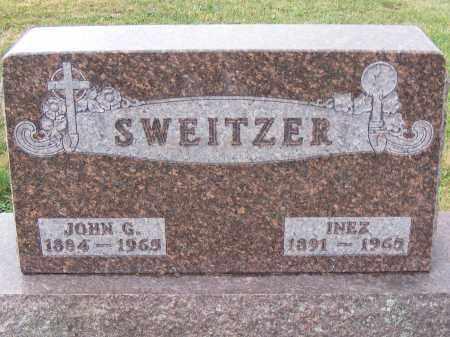 SWEITZER, JOHN G - Shelby County, Ohio | JOHN G SWEITZER - Ohio Gravestone Photos