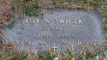 SWIGER, ROY W. - Shelby County, Ohio | ROY W. SWIGER - Ohio Gravestone Photos