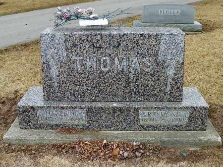 THOMAS, RAYMOND - Shelby County, Ohio   RAYMOND THOMAS - Ohio Gravestone Photos