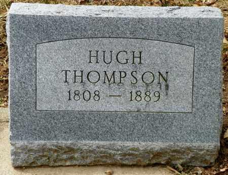 THOMPSON, HUGH - Shelby County, Ohio   HUGH THOMPSON - Ohio Gravestone Photos