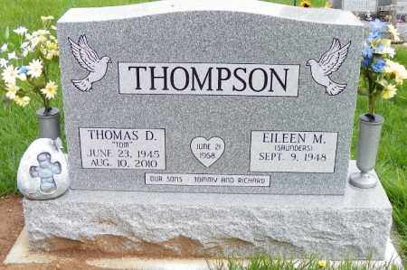 THOMPSON, THOMAS D. - Shelby County, Ohio   THOMAS D. THOMPSON - Ohio Gravestone Photos
