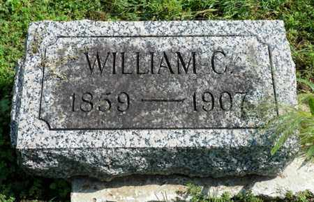 THROCKMORTON, WILLIAM C. - Shelby County, Ohio | WILLIAM C. THROCKMORTON - Ohio Gravestone Photos