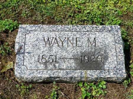 THROCKMORTON, WAYNE M. - Shelby County, Ohio | WAYNE M. THROCKMORTON - Ohio Gravestone Photos