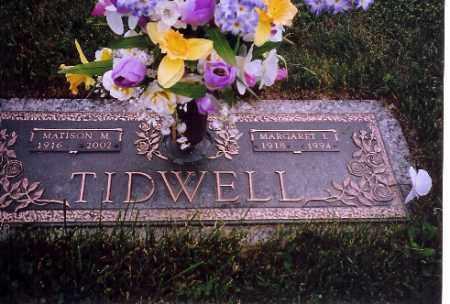 TIDWELL, MATISON M. - Shelby County, Ohio | MATISON M. TIDWELL - Ohio Gravestone Photos