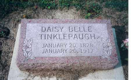 TINKLEPAUGH, DAISEY BELLE - Shelby County, Ohio | DAISEY BELLE TINKLEPAUGH - Ohio Gravestone Photos