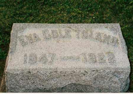 COLE TOLAND, EVA - Shelby County, Ohio | EVA COLE TOLAND - Ohio Gravestone Photos