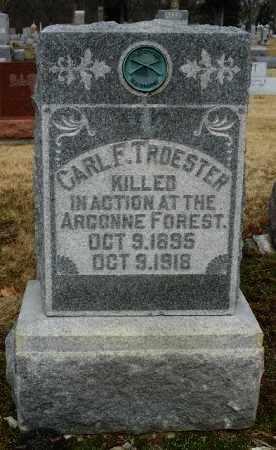 TROESTER, CARL F. - Shelby County, Ohio | CARL F. TROESTER - Ohio Gravestone Photos
