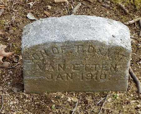 VAN ETTEN, SON - Shelby County, Ohio   SON VAN ETTEN - Ohio Gravestone Photos